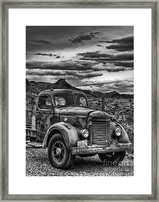 Grandpa's Ride Framed Print by Eddie Yerkish