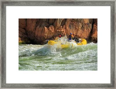 Granite Rapids Framed Print by Inge Johnsson