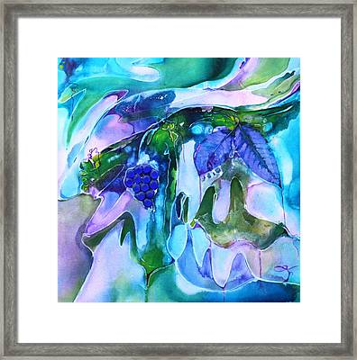 Grapevine Twist Framed Print by Pat Purdy