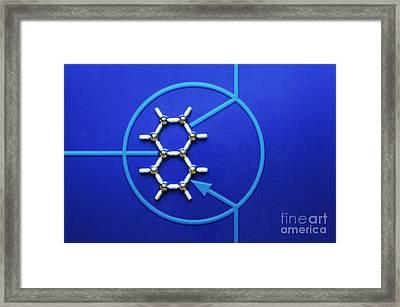 Graphene Transistor Framed Print by GIPhotoStock