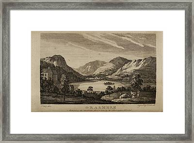 Grasmere In The Lake District Framed Print by British Library