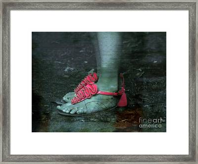 Grass Pink Orchids  Framed Print by Steven  Digman