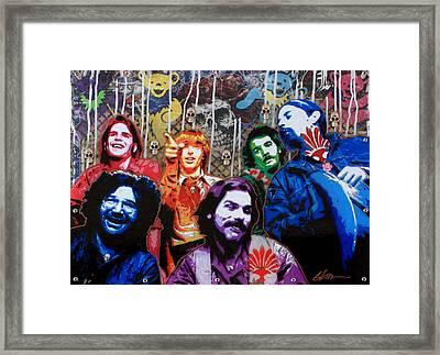 Grateful Dead  Framed Print by Gary Kroman