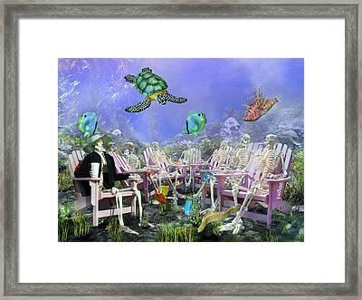 Grateful Friends Framed Print by Betsy Knapp