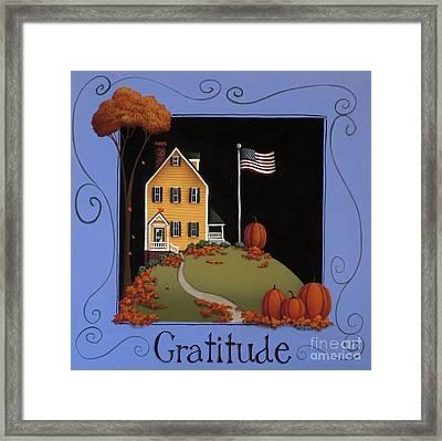 Gratitude Framed Print by Catherine Holman