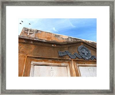Grave II Framed Print by Beth Vincent
