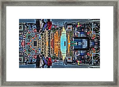 Gravity Framed Print by Dan Sproul