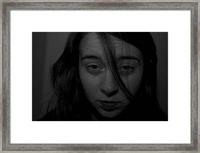 Gray Looks Framed Print by Gregory  Kent