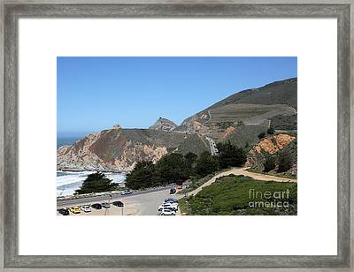 Gray Whale Cove State Beach Montara California 5d22614 Framed Print by Wingsdomain Art and Photography