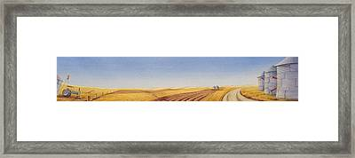 Grazing Framed Print by Scott Kirby