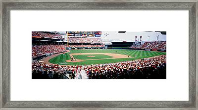 Great American Ballpark Cincinnati Oh Framed Print by Panoramic Images