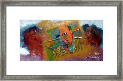Great Artist Picasso 1 Framed Print by Richard W Linford