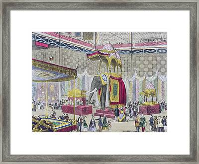 Great Exhibition, 1851 Indian Framed Print by English School