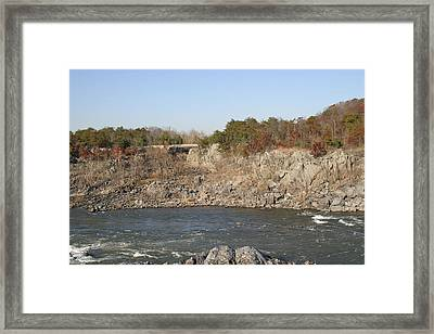 Great Falls Va - 121246 Framed Print by DC Photographer