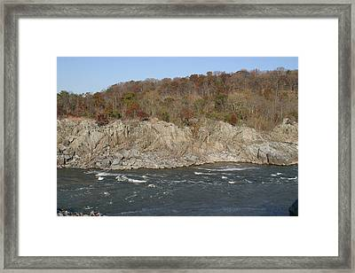 Great Falls Va - 121247 Framed Print by DC Photographer