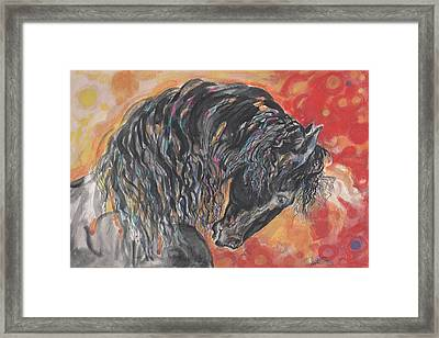 Great Fresian Framed Print by Mary Armstrong