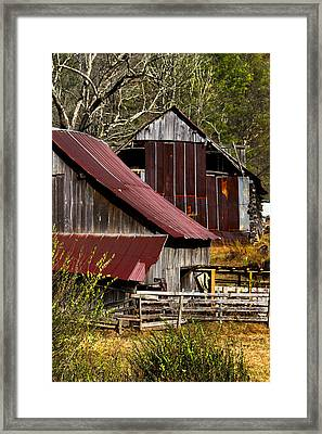 Great Grandpa's Place Framed Print by Debra and Dave Vanderlaan