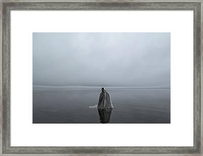 Great Lake Ghost Framed Print by Matt Molloy