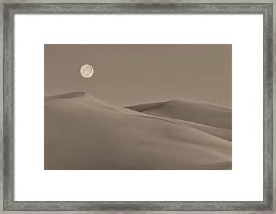 Great Sand Dunes Framed Print by Don Spenner