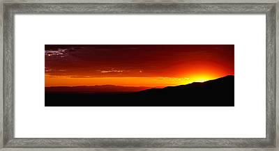 Great Sand Dunes National Park Framed Print by Panoramic Images
