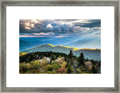 Great Smoky Mountains National Park - The Ridge Framed Print by Dave Allen