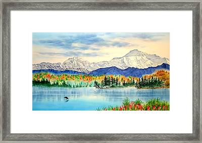Great View Framed Print by John YATO