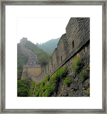 Great Wall 1 Framed Print by Kay Gilley