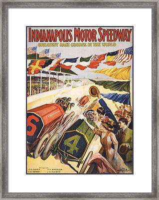 Greatest Race Course In The World Framed Print by Aged Pixel