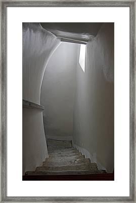 Greece, Amorgos Hallway Of The Eleventh Framed Print by Jaynes Gallery