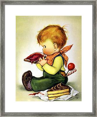 Greedy Petey Framed Print by Chalot Byi
