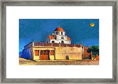Greek Church 7 Framed Print by George Rossidis