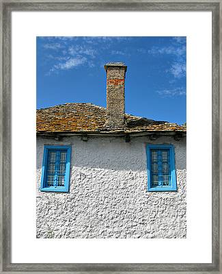 Greek Mood Framed Print by Daliana Pacuraru