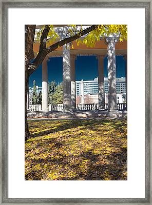 Greek Theatre 4 Framed Print by Angelina Vick