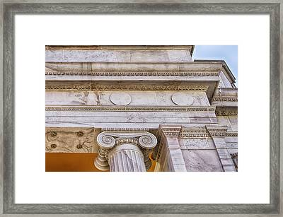 Greek Theatre 5 Framed Print by Angelina Vick