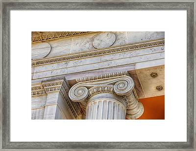 Greek Theatre 6 Framed Print by Angelina Vick