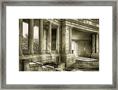 Greek Theatre 7 Golden Age Framed Print by Angelina Vick