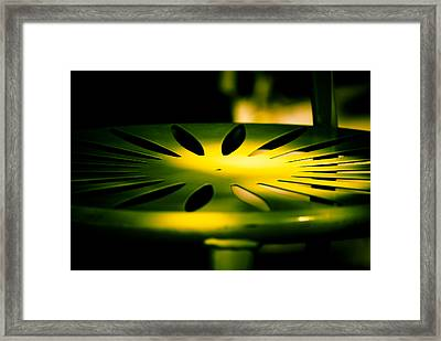 Green And Gold Framed Print by Christi Kraft