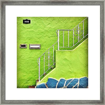 Green House  Framed Print by Julie Gebhardt
