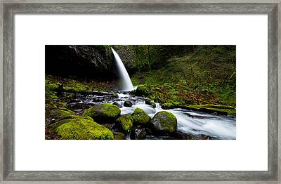 Green Mile Framed Print by Chad Dutson
