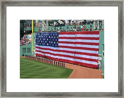 Green Monsta Pride Framed Print by Bruce Carpenter
