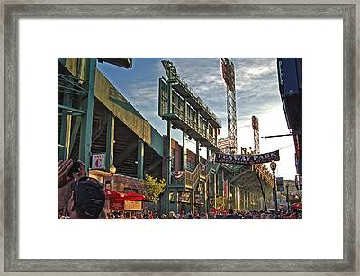 Green Monster Framed Print by Joann Vitali