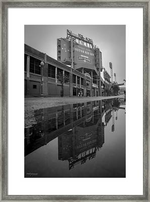 Green Monster Framed Print by Paul Treseler