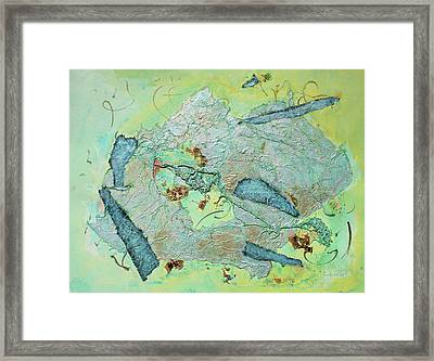 Green Of The Earth Plane Framed Print by Asha Carolyn Young
