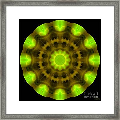 Green Serenity Framed Print by Hanza Turgul
