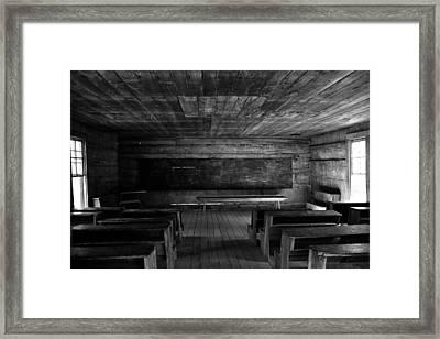 Greenbrier School Circa 1882 Framed Print by David Lee Thompson