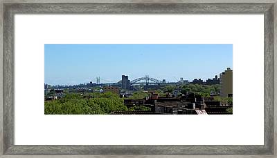 Greener New York Framed Print by Suzanne Perry