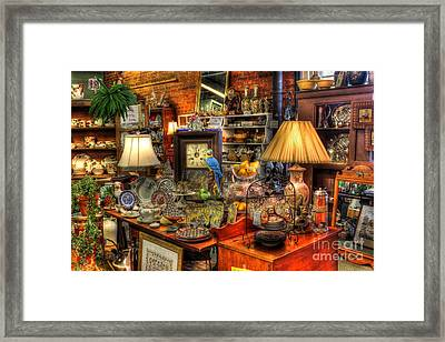 Greensboro Antique Mall Best Of The Best Framed Print by Reid Callaway