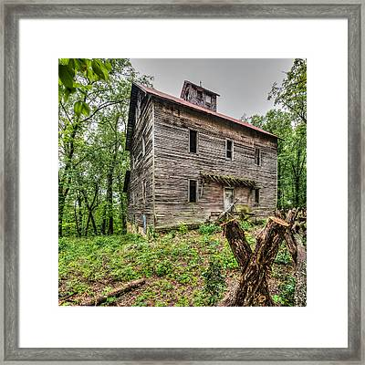 Greer Mill Framed Print by Paul Freidlund