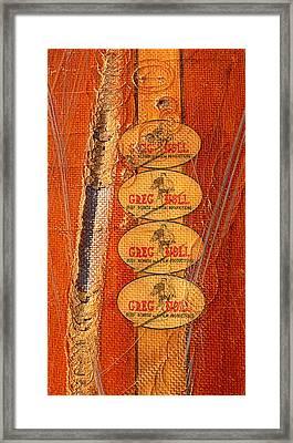 Greg Noll Framed Print by Ron Regalado