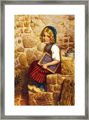 Gretel Brothers Grimm Framed Print by Wilhelm Kaulbach